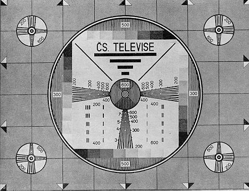 TV Testbild Unterhose